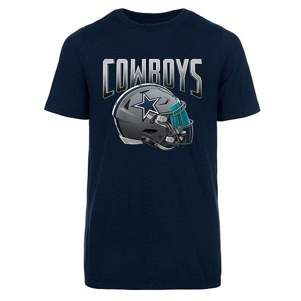 Dallas Cowboys Youth Apex Helmet Short Sleeve T-Shirt
