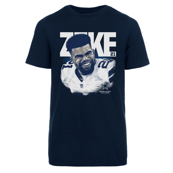 Dallas Cowboys Youth Ezekiel Elliott Hayden Short Sleeve T-Shirt