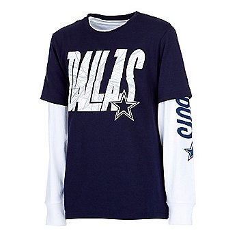 Dallas Cowboys Youth Skiles 3-in-1 Combo T-Shirt