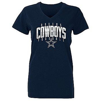 Dallas Cowboys Girls Amara Short Sleeve T-Shirt