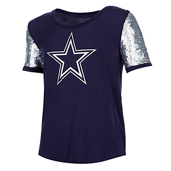 Dallas Cowboys Girls Whitney Short Sleeve T-Shirt