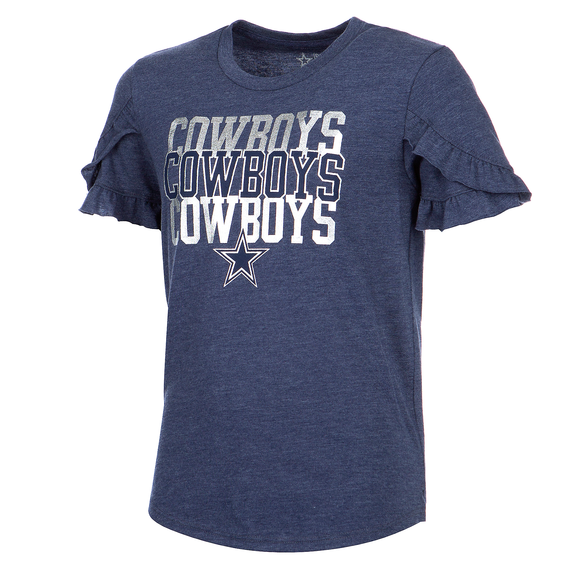 Dallas Cowboys Girls Janet Short Sleeve T-Shirt