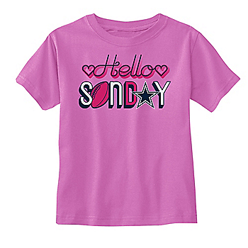 Dallas Cowboys Toddler Breann Short Sleeve T-Shirt
