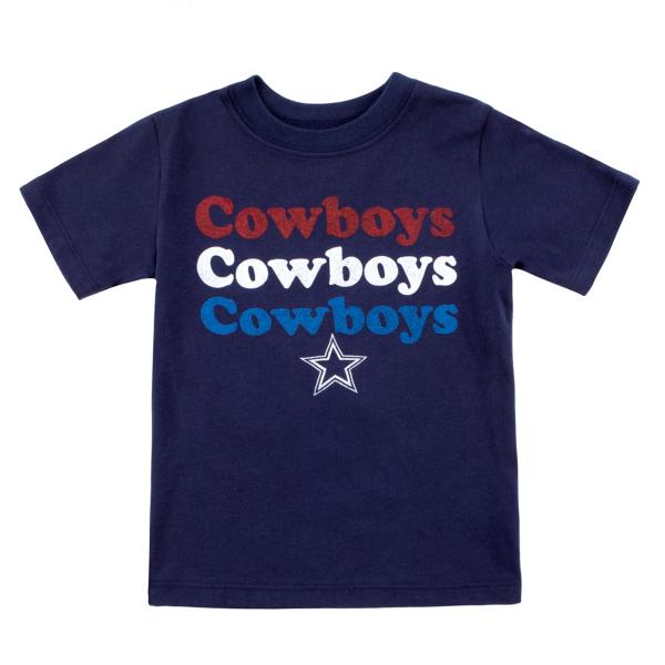 Dallas Cowboys Toddler Joan Short Sleeve T-Shirt
