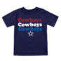 Dallas Cowboys Toddler Joan Short Sleeve T-Shirt