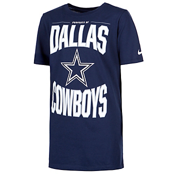 Dallas Cowboys Nike Youth Dri-FIT Cotton Property Of Short Sleeve T-Shirt