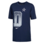 Dallas Cowboys Nike Youth Dri-FIT Cotton Local Verbiage Short Sleeve T-Shirt