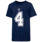 Dallas Cowboys Youth Dak Prescott #4 Nike Player Pride T-Shirt
