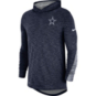 Dallas Cowboys Nike Youth Dri-FIT Scrimmage Long Sleeve Hooded T-Shirt