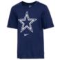 Dallas Cowboys Nike Youth Dri-FIT Cotton Essential Logo Short Sleeve T-Shirt