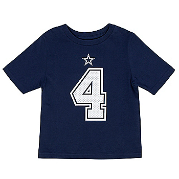 Dallas Cowboys Kids Dak Prescott #4 Nike Player Pride T-Shirt