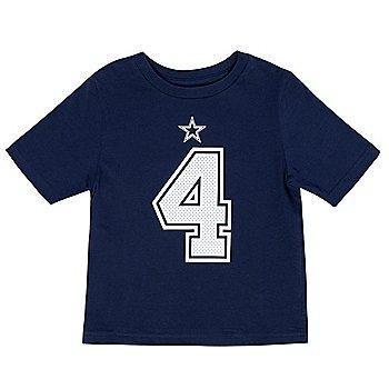 Dallas Cowboys Kids Dak Prescott #4 Nike Player Pride T-Shirt