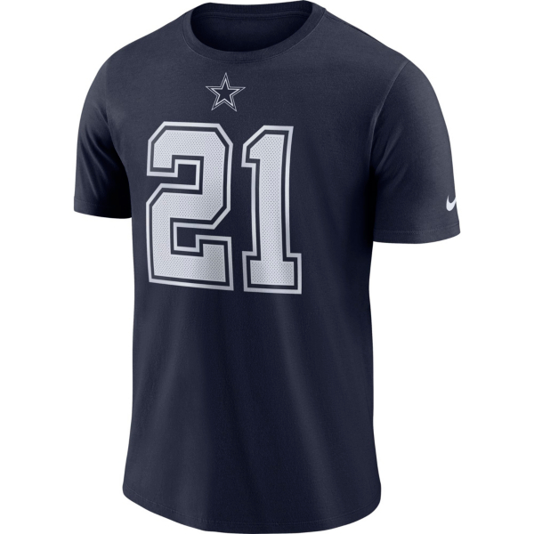 Dallas Cowboys Kids Ezekiel Elliott #21 Nike Player Pride T-Shirt