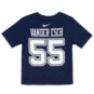 Dallas Cowboys Kids Leighton Vander Esch #55 Nike Player Pride T-Shirt