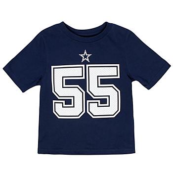 Dallas Cowboys Toddler Leighton Vander Esch #55 Nike Player Pride T-Shirt