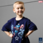 Dallas Cowboys MARVEL Youth Captain in Battle T-Shirt