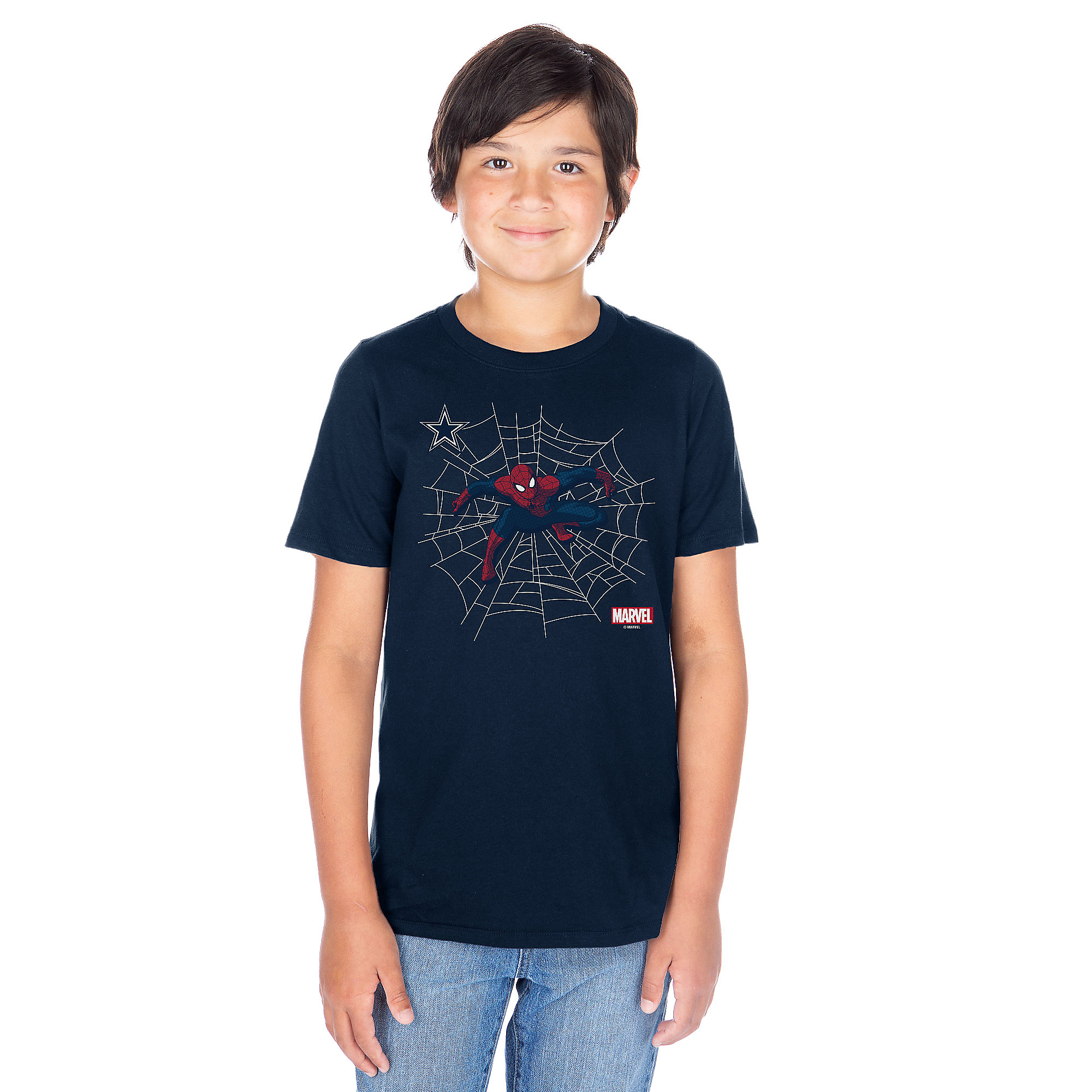Dallas Cowboys MARVEL Youth Spidey Sense T-Shirt