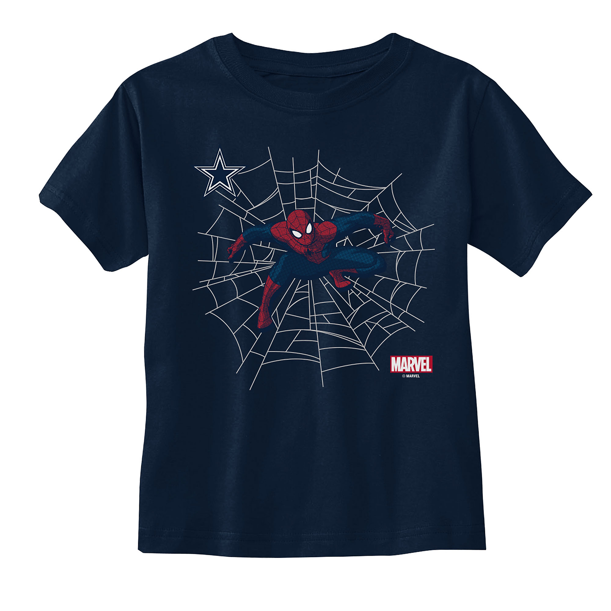 Dallas Cowboys MARVEL Toddler Spidey Sense T-Shirt