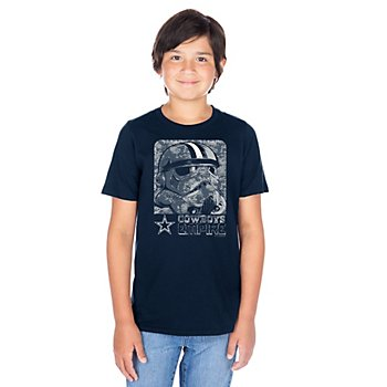 Dallas Cowboys Star Wars Youth Digi Trooper Short Sleeve T-Shirt