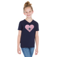 Dallas Cowboys Studio Girls Heart Cowboys Short Sleeve T-Shirt