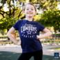 Dallas Cowboys Girls Lyric Short Sleeve T-Shirt