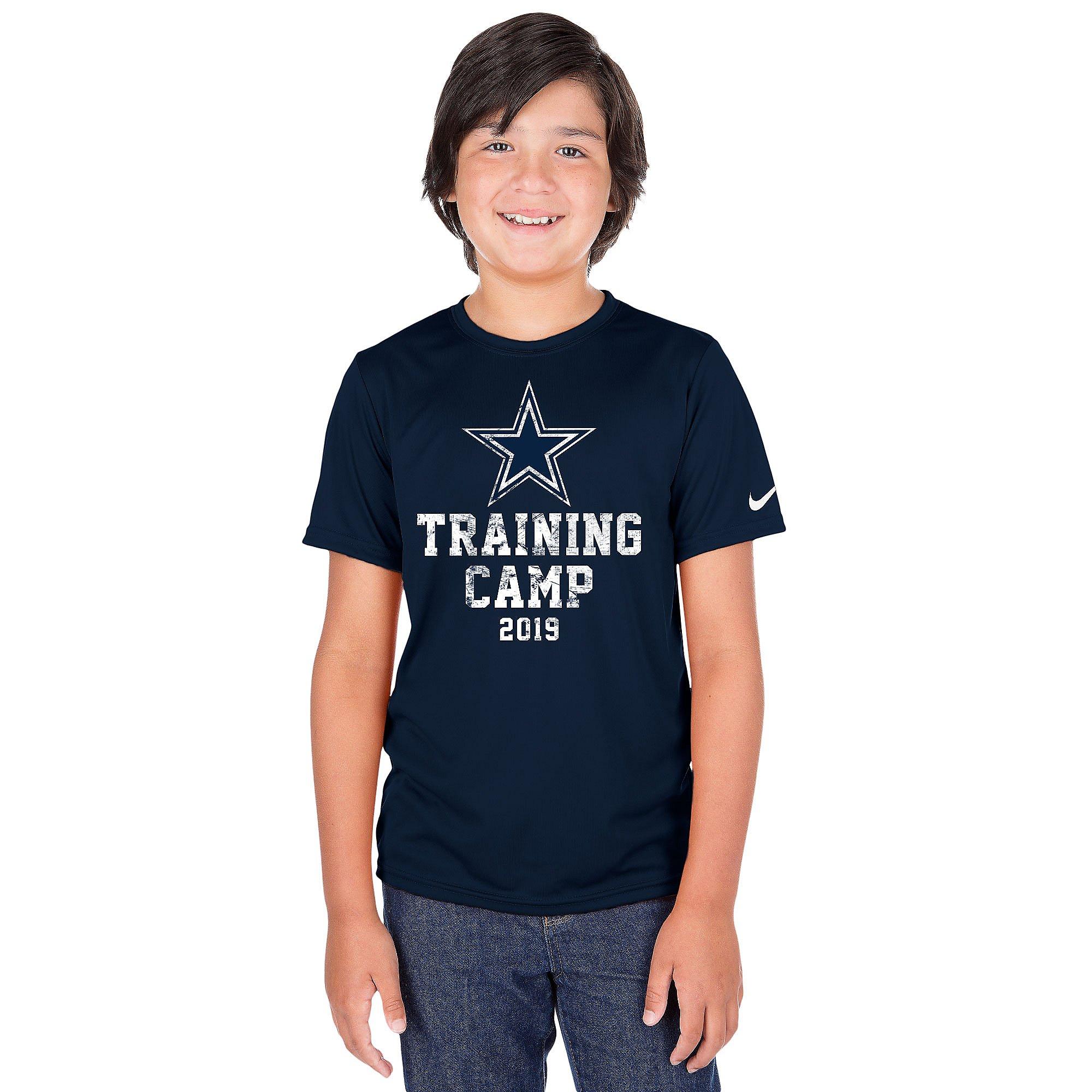Dallas Cowboys Youth Training Camp Logo Short Sleeve T-Shirt