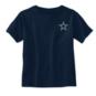Dallas Cowboys Toddler City Box Skyline Short Sleeve T-Shirt
