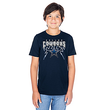 Dallas Cowboys Youth Thunderstruck Short Sleeve T-Shirt