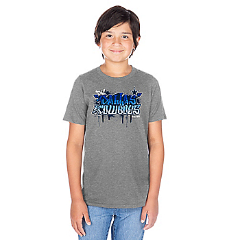 Dallas Cowboys Youth Graffiti Aiden Short Sleeve T-Shirt