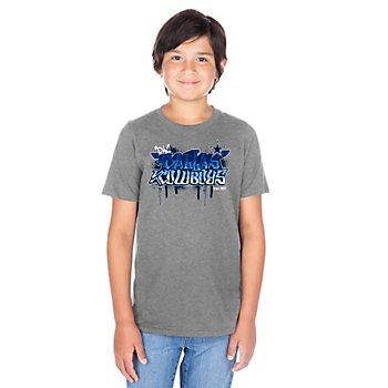 Dallas Cowboys Youth Graffiti Aiden Short Sleeve T-Shirt