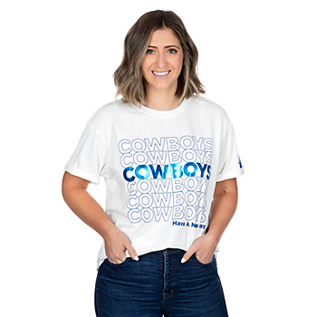 Dallas Cowboys Alta Gracia Womens Stacy Short Sleeve T-Shirt