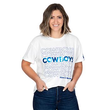 Dallas Cowboys Alta Gracia Womens Stacy Short Sleeve T-Shirt