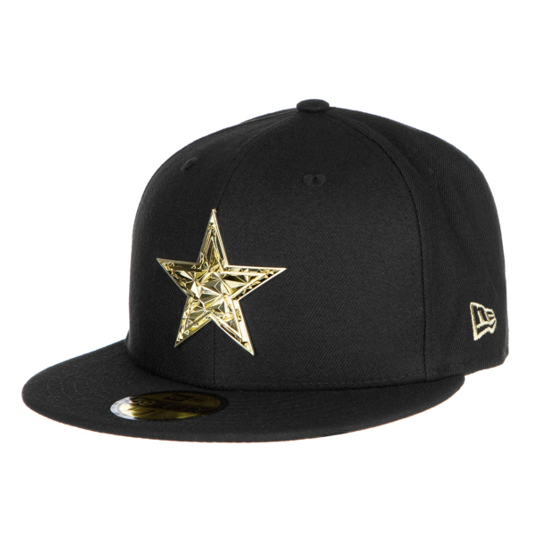 Dallas Cowboys New Era Fractured Metal 59Fifty Cap