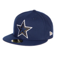 Dallas Cowboys New Era Logo Stopper 59Fifty Cap