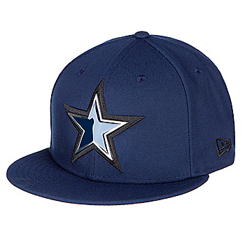 e581d79bc70ea Dallas Cowboys New Era Mens Metal And Thread 59Fifty Cap