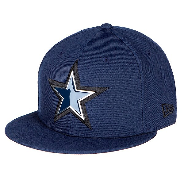 Dallas Cowboys New Era Mens Metal And Thread 59Fifty Hat
