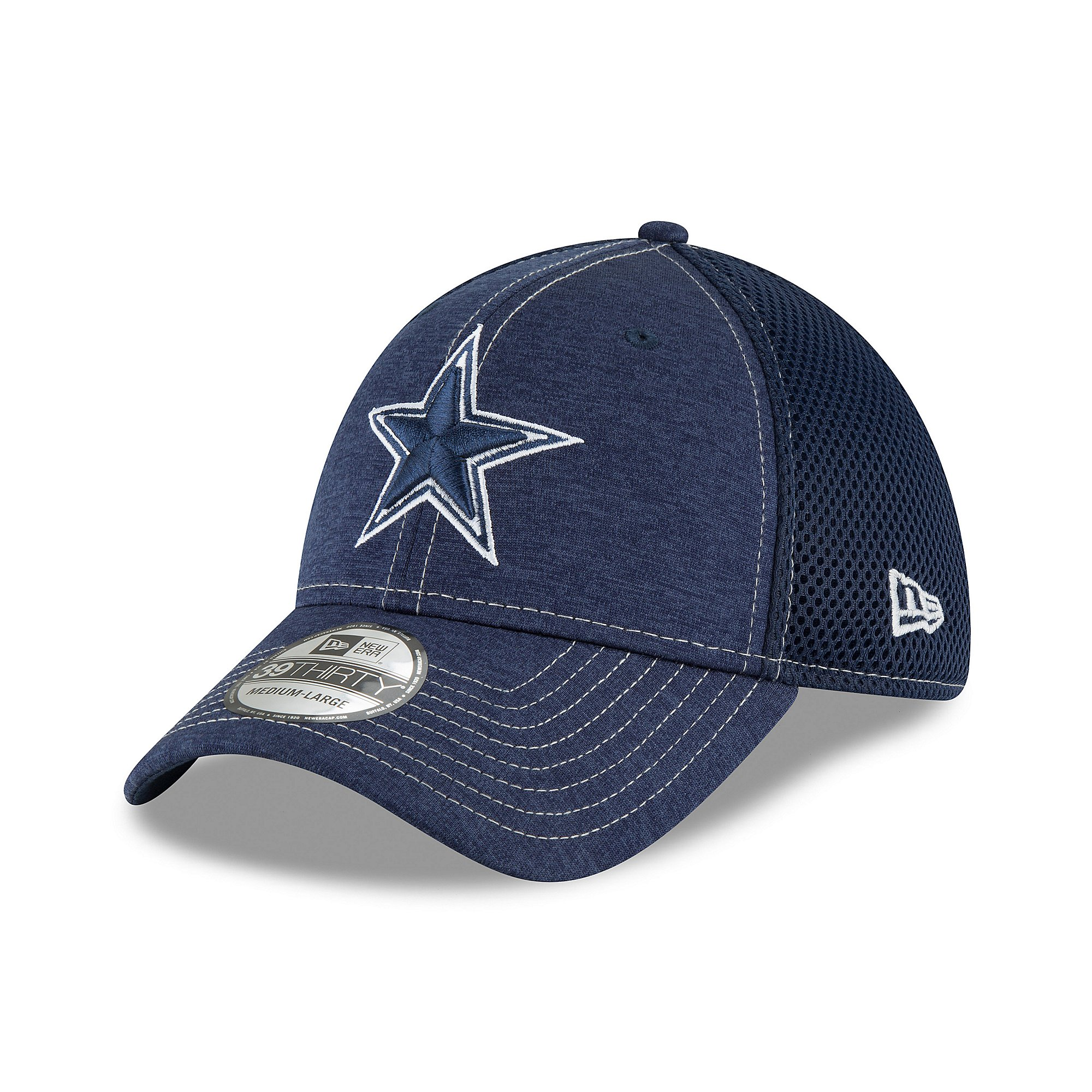 Dallas Cowboys New Era Mens Classic Shade Neo 39Thirty Hat