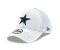 Dallas Cowboys New Era White Team Neo 39Thirty Cap