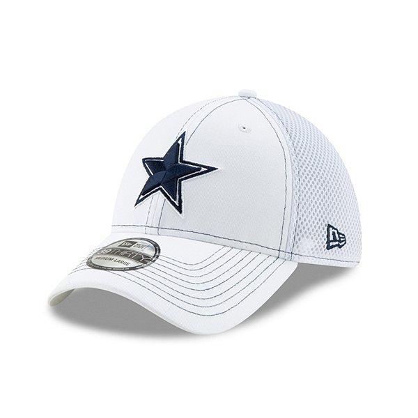 Dallas Cowboys New Era White Team Neo 39Thirty Hat