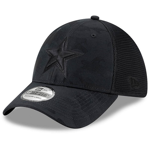 Dallas Cowboys New Era Camo Front Neo 39Thirty Hat