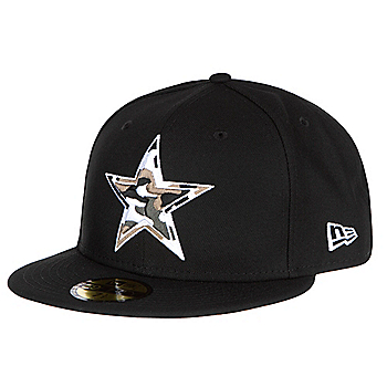 3e358698fa0 Dallas Cowboys New Era Camo Trim 59Fifty Cap