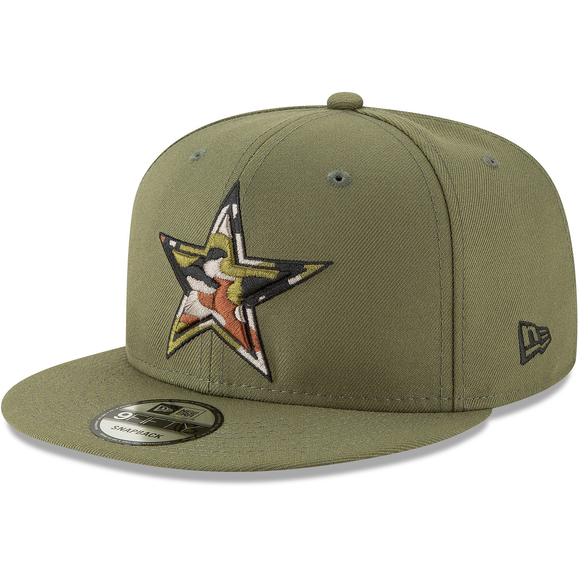 Dallas Cowboys New Era Camo Trim 59Fifty Cap