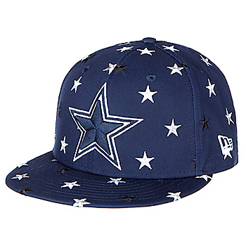446a097aee0fd Dallas Cowboys New Era Mens Star Scatter 9Fifty Cap