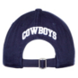 Dallas Cowboys Mens Stripe Front Adjustable Hat