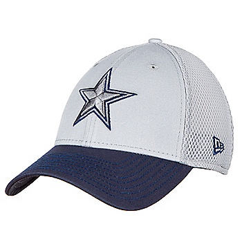 Dallas Cowboys New Era Mens Grey Neo 39Thirty Cap