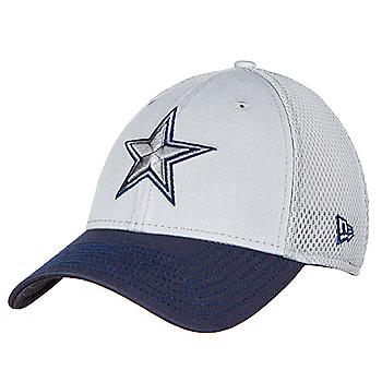 Dallas Cowboys New Era Mens Grey Neo 39Thirty Cap