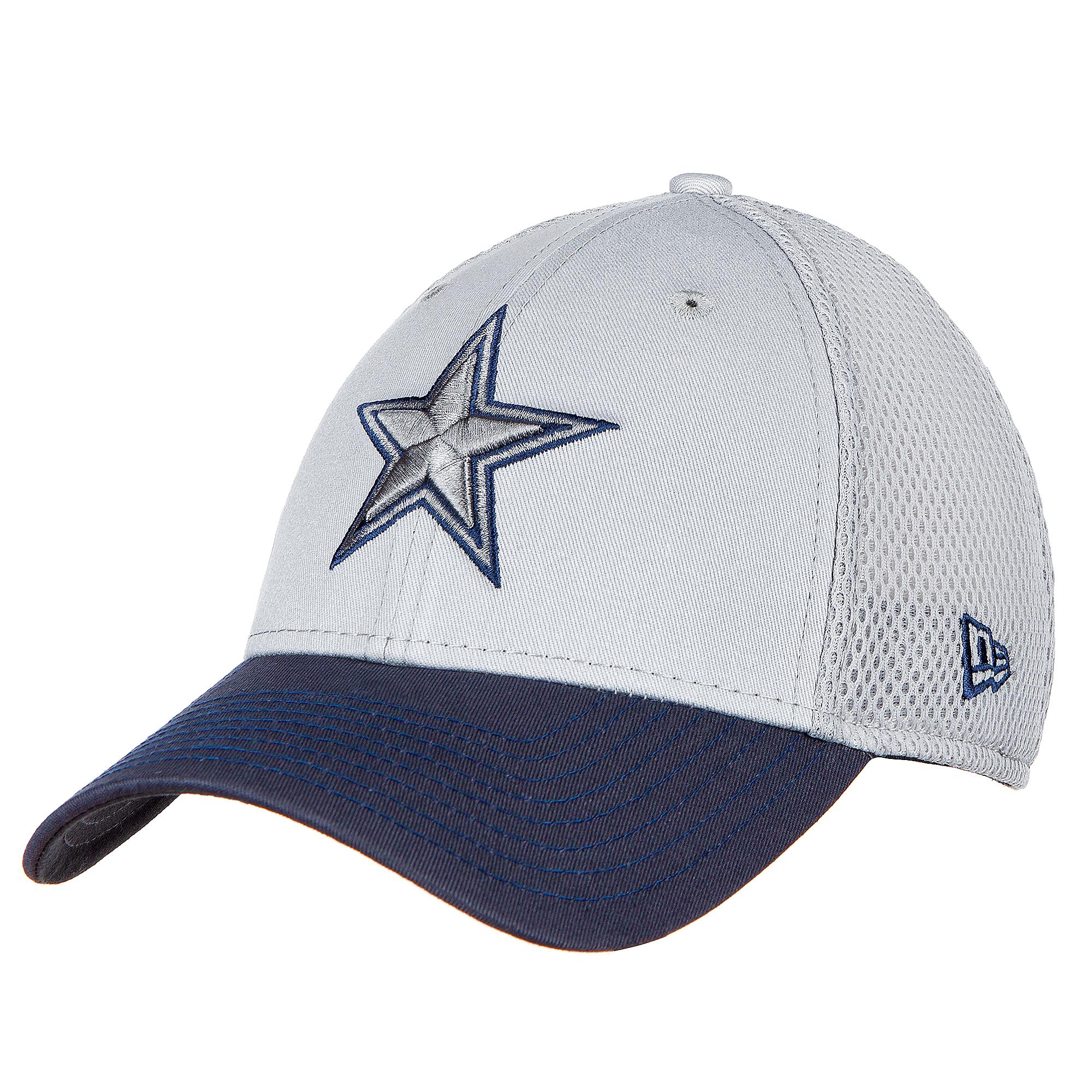 Dallas Cowboys New Era Mens Grey Neo 39Thirty Hat