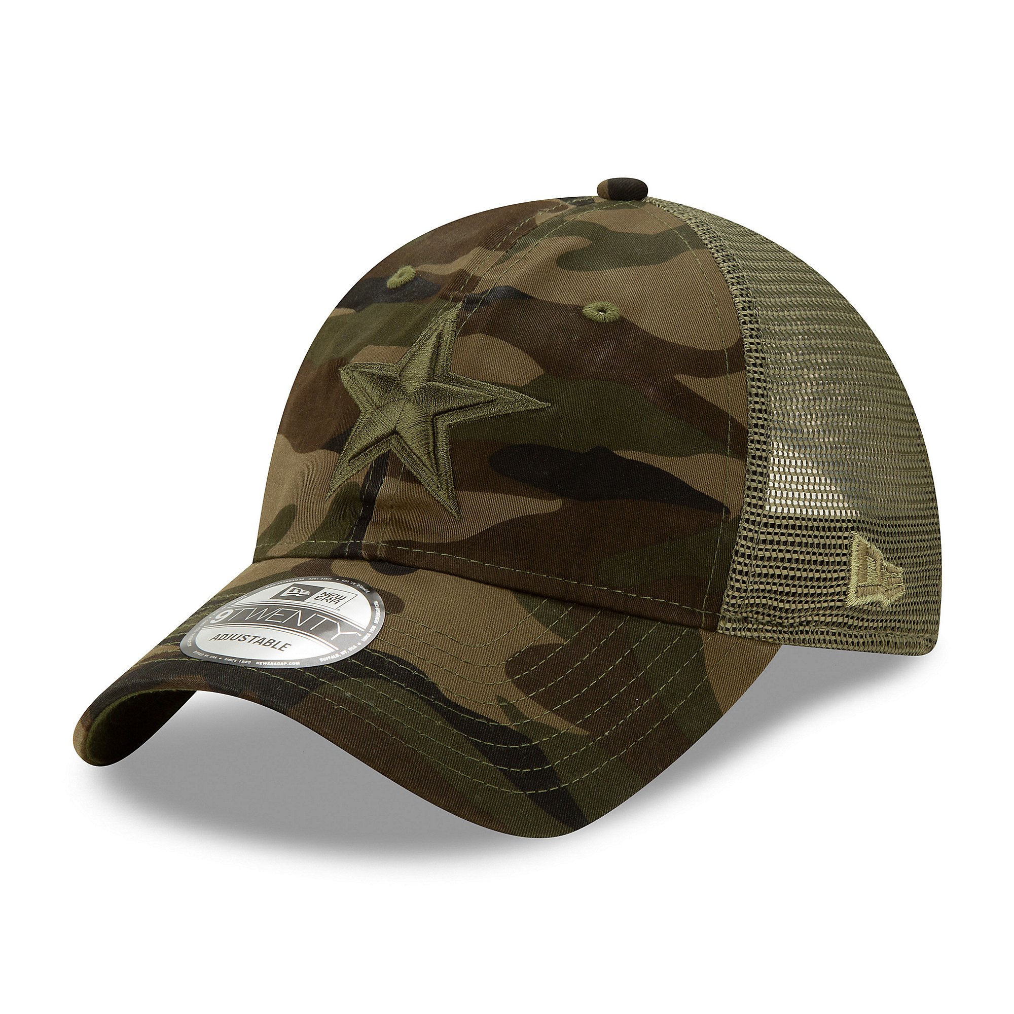 Dallas Cowboys New Era Mens Camo Truck 9Twenty Cap