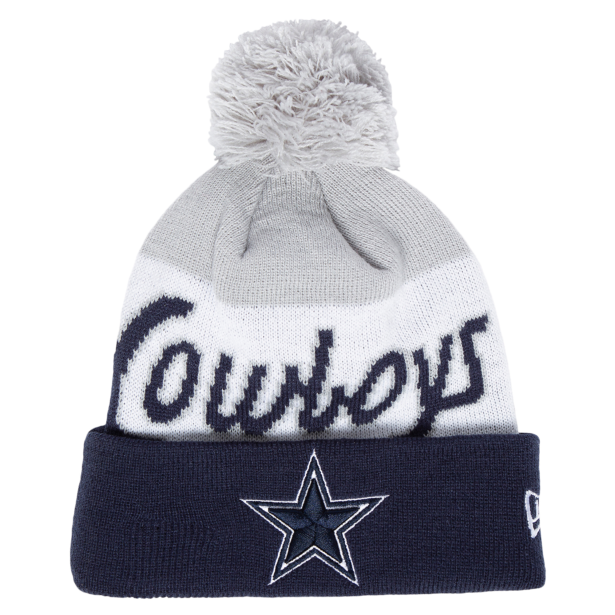 Dallas Cowboys New Era Mens Script Knit Hat