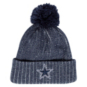Dallas Cowboys New Era Mens Color Twist Knit Hat